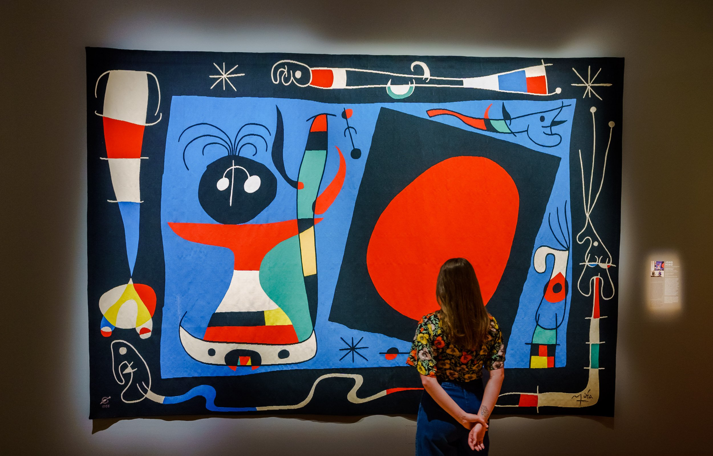 6. Joan Miró, Composition No.1, Woman at the mirror, 1966 © Marco De Swart.JPG
