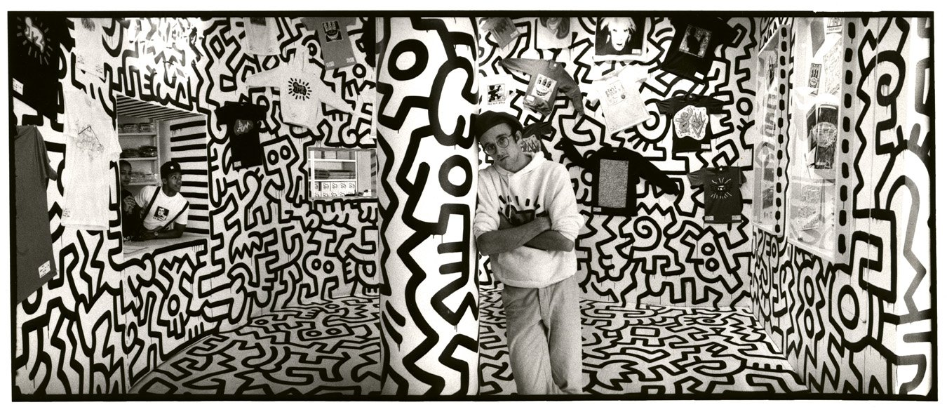 keith haring in pop shop.jpg