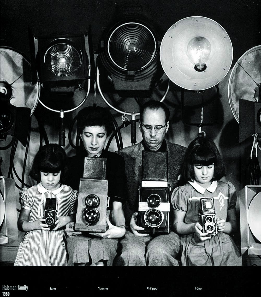 Philippe Halsman family, 1950.png