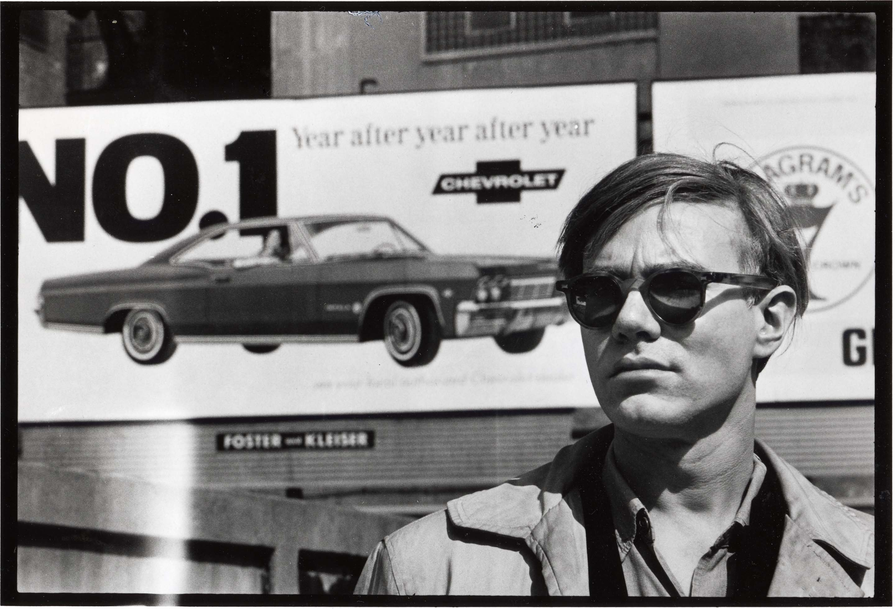 02 Foto David McCabe, Andy Warhol -Chevy Sign, collectie Hugo and Carla Brown.jpg