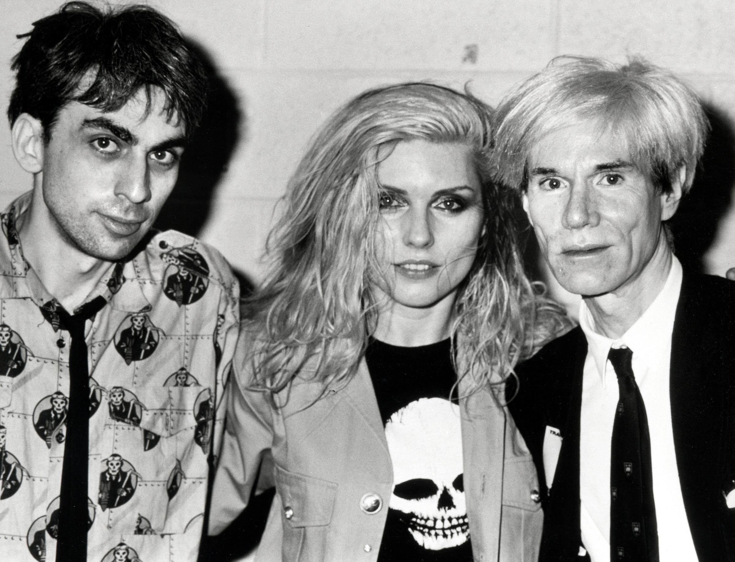 03 Foto Ron Galella, Andy Warhol and Deborah Harry, collectie Hugo and Carla Brown 2.JPG