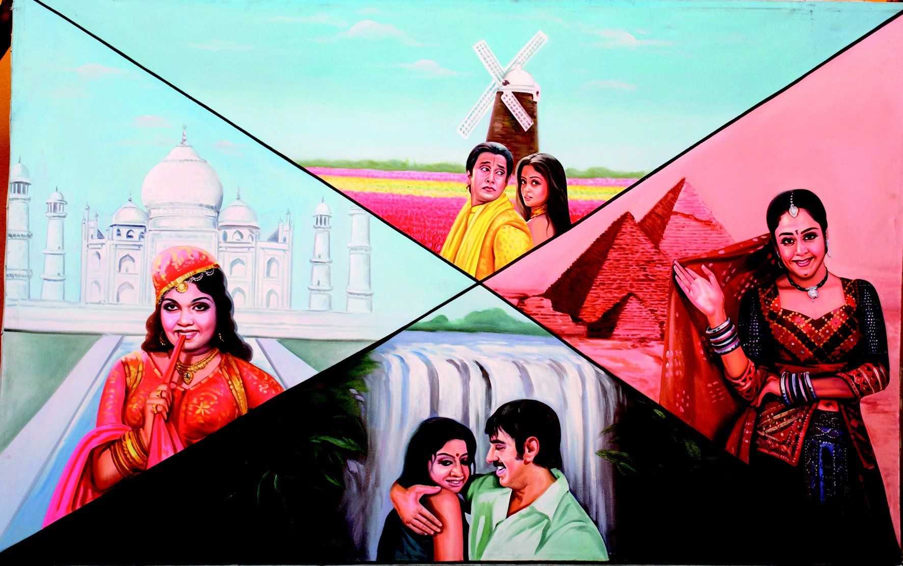 Billboard from the film Thiruda, Thiruda (Tief, Tief!!!)