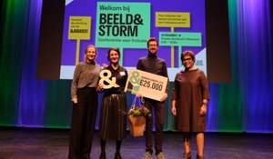 Kunsthal en IBB winnaar &Award met All you can Art