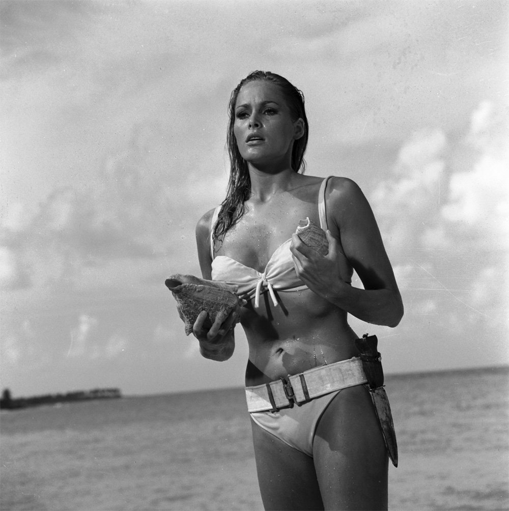 31. Emerging from the sea Honey (Ursula Andress).  © 1962 Danjaq, LLC and United Artists Corporation..jpg