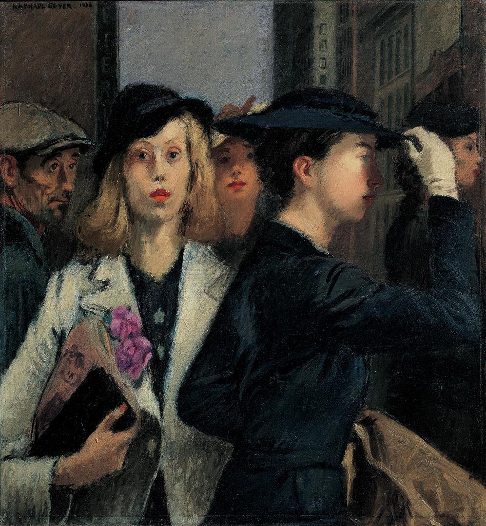 10) Modern Life, Raphael Soyer, Office Girls - LR.jpg