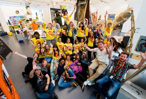 Kick off Summerschool. Foto: Laurens Delfshaven